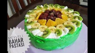 Meyveli Yaş Pasta Tarifi l Şipşak Yemek Tarifleri
