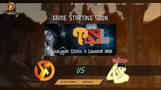 Signature.Trust Vs My Apologies - Thailand Dota 2 League - Caster : RoCkLEE-