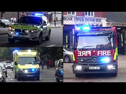 Emergency Services Responding - BEST OF AUGUST  2017 -
