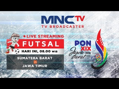 Sumatera Barat VS Jawa Timur (FT 1-6)  - Futsal - PON 2016