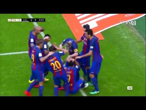 """Lionel Messi a Valencia szurkolóknak """"A Kurva anyátokat 😡😡😡"""