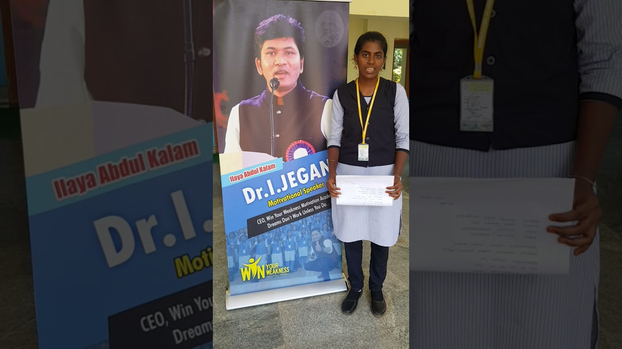 jp Engineers  college  student decided this poem for jegan anna