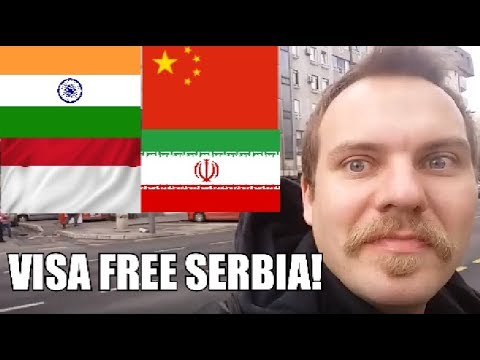 LIKE IT OR NOT? Serbia now visa free for India, China, Iran and Indonesia