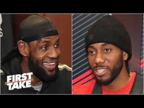 Will LeBron Or Kawhi Have A Bigger Impact Down The Stretch? First Take Debates