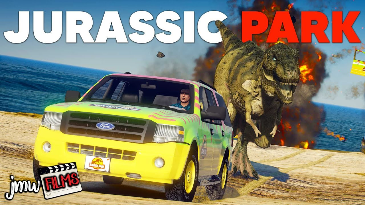 T-REX ESCAPES IN JURASSIC PARK! | PGN # 266 | GTA 5 Roleplay