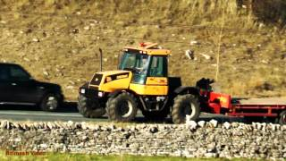Tractors Pass - Ribblehead and Kirkby Stephen. JCB Fastrac X 3 !