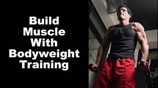 Killer Bodyweight Upper Body Circuit...antagonistic Mechanical Drop Sets