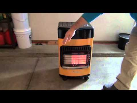 Protemp Propane Heater - YouTube