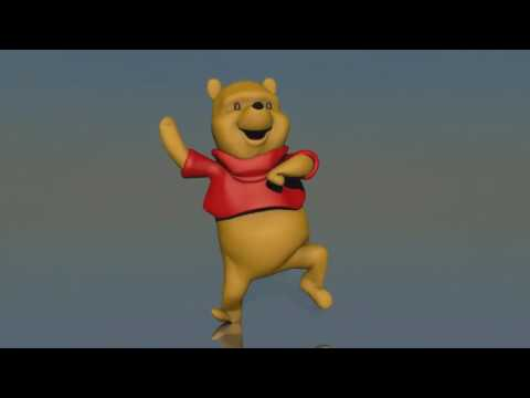 winnie pu dance to Pitbull Hotel Room | Long Version