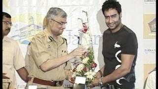 Bindaas Bollywood - Bollywood World - Bollywood World - Ajay Devgan's Mumbai Police Alert Campa