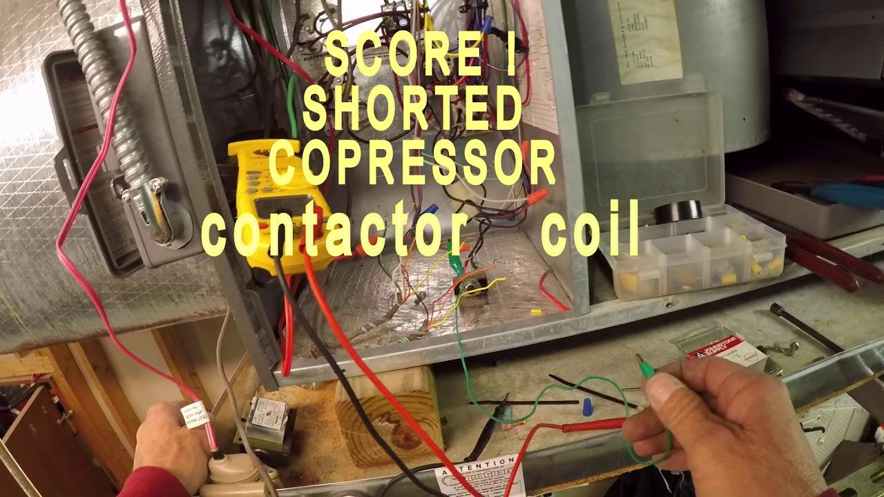 hvac blown 5 amp fuse low voltage short found easy  [ 1280 x 720 Pixel ]