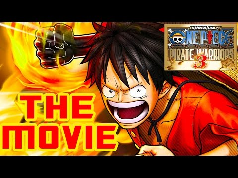 One Piece: Pirate Warriors 3 - THE MOVIE (2015) All Cutscenes [HD]