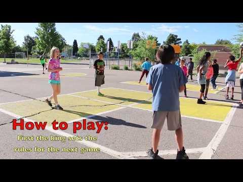 Denver Green School - Healthy Recess - Four Square