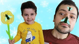 Yaramaz Sinek | Yusuf pretend play with crazy fly-Funny Kids Video