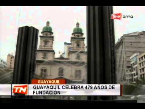 Guayaquil celebra 479 años de fundación