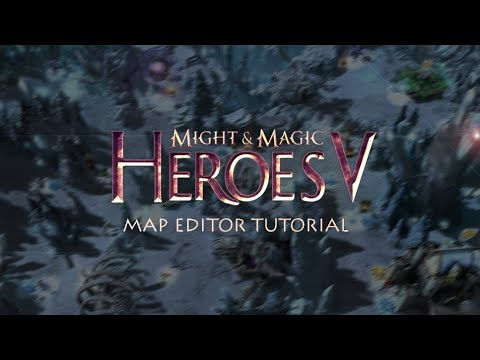 Heroes Of Might & Magic V - Tutorial How To Create MAP
