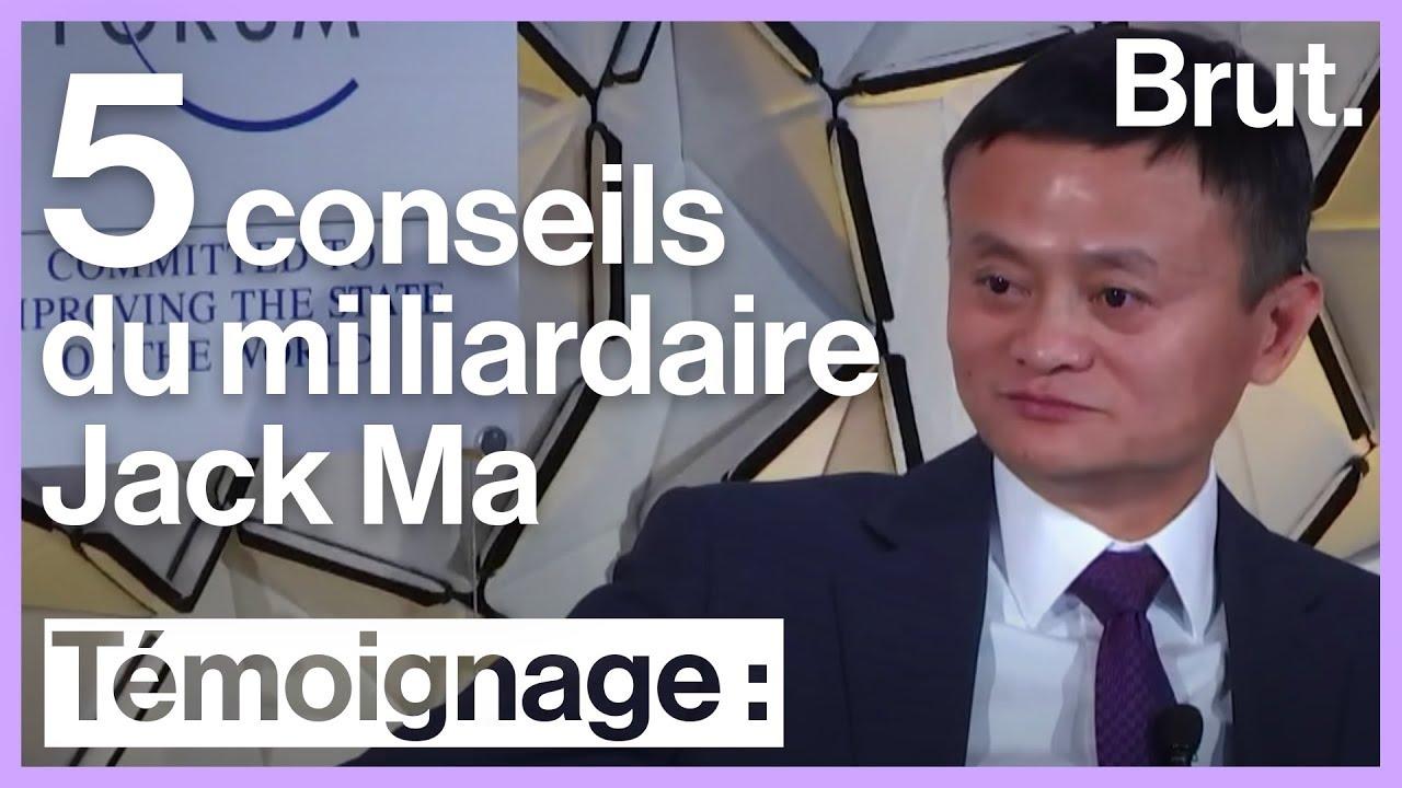 5 conseils du milliardaire Jack Ma pour réussir dans les affaires