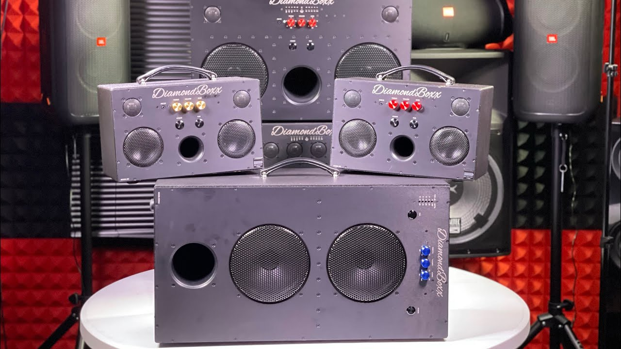 DiamondBoxx SUB8.2 - The Bass Will Blow Your Mind!