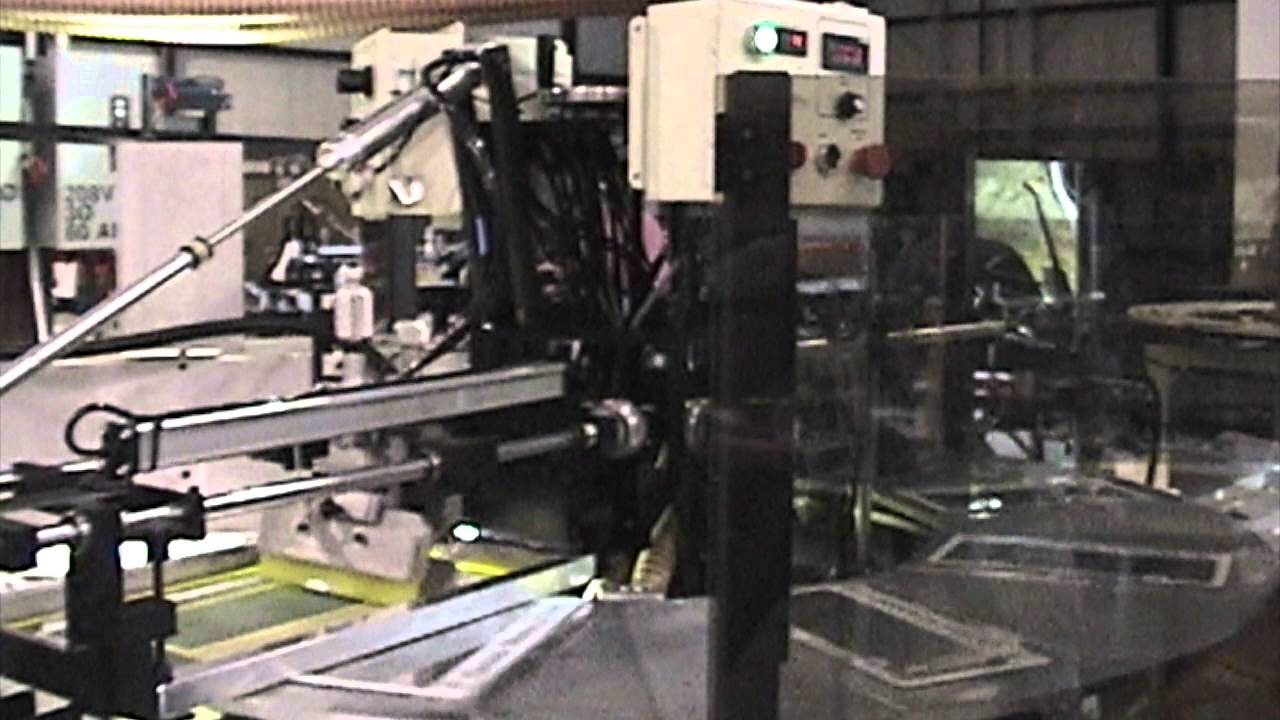 License Plate Frames - Screen Printing Machine for Flat Products ...