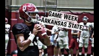 Alabama Crimson Tide Football: Watch Tua Tagovailoa throw before Arkansas State
