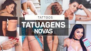 TATUAGENS NOVAS  NEW TATTOOS
