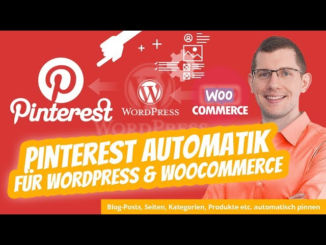 WordPress Pinterest Plugin Automatik + WooCommerce Pinterest für Produkte (All in One Lösung)