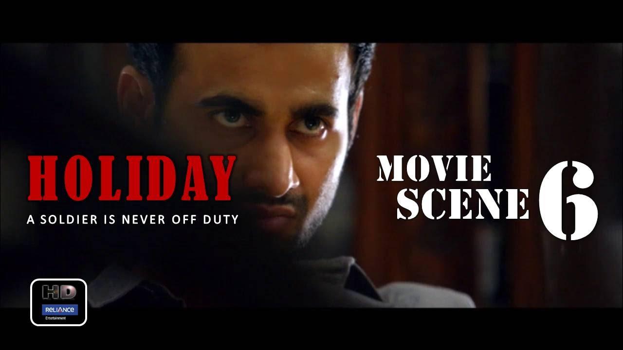 Download Holiday (2014) Official Movie Scene #6   Akshay Kumar,Sonakshi Sinha