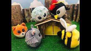 Gang Słodziaków Bajka Słodziaki Kto zdenerwował pszczółkę Polę?