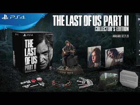 THE LAST OF US PART 2 - ALL FIVE DIFFERENT EDITIONS (UPDATE: PUSHED BACK TO 5/29/2020)