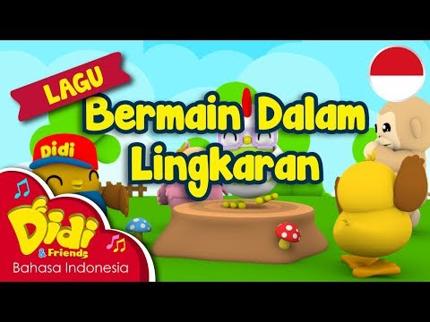 Lagu Anak-Anak Indonesia | Didi & Friends | Bermain Dalam Lingkaran