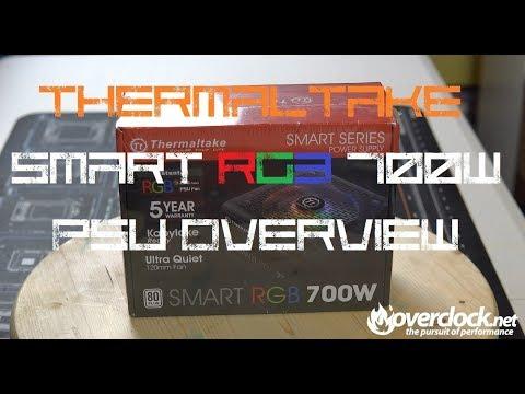 Thermaltake Smart RGB 700w PSU Overview
