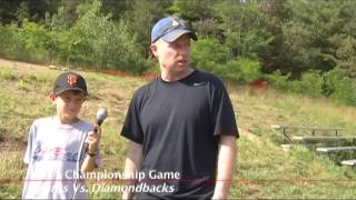 Acton Boxborough Youth Baseball Championship Game July 2011