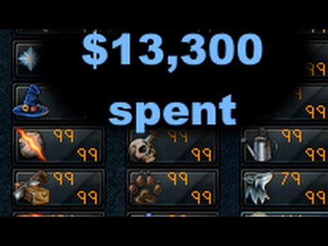 $13,300 SPENT ON RUNESCAPE FOR FASTEST ALL 99'S