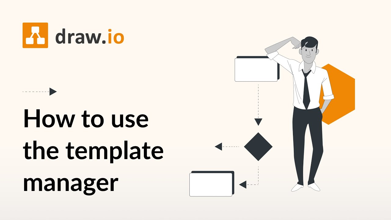 How to use the draw.io template manager to quickly start diagramming. See how to search for and open a template diagram from draw.io's template manager. There are a huge variety of diagram templates you can use in draw.io. Almo.... Youtube video for project managers.