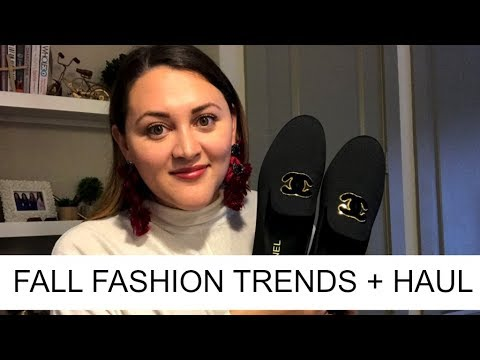 Fall Fashion Trends/Haul + Chanel Reveal!