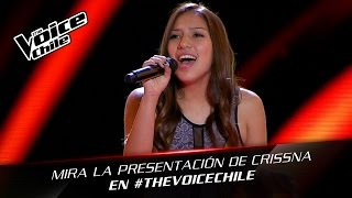 The Voice Chile | Crissna Fuentes - Will you still love me Tomorrow