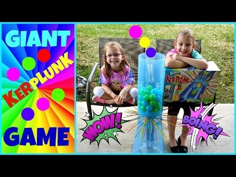 GIANT KERPLUNK GAME CHALLENGE - Magic Box Toys Collector
