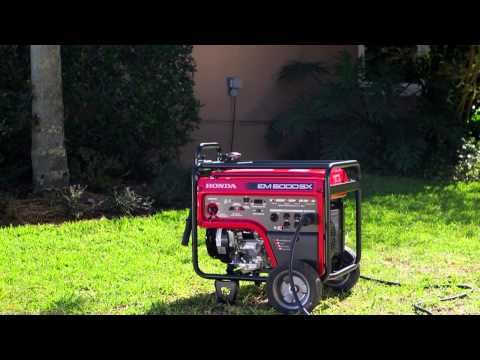 Connecting a generator to your home - Honda Generators