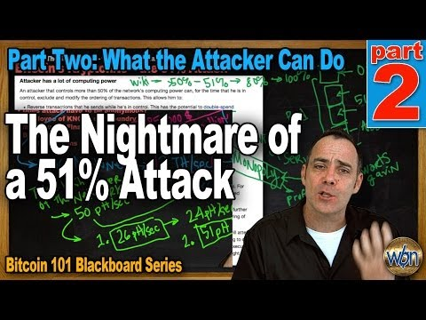 Bitcoin 101 - The Nightmare Of A 51% Attack - Part 2 - How To Destroy Bitcoin