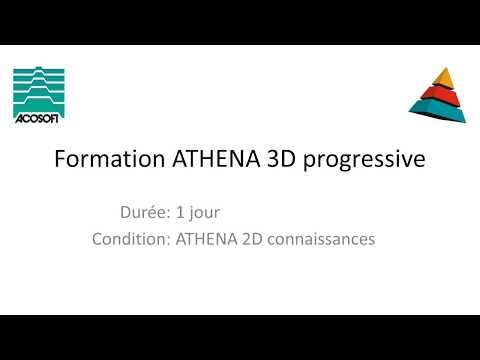 Formation 3D Progressive