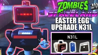 UPGRADE N31L EASTER EGG - Zombies In Spaceland - Infinite Warfare - PROTETOR CIVIL UPGRADE