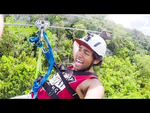 VLOGG   Fastnar i Zipline - Dominikanska Republiken