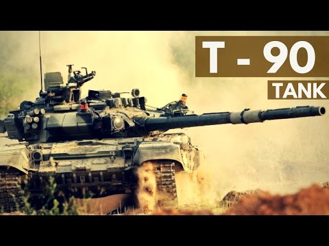Indian Army - T 90 Tank