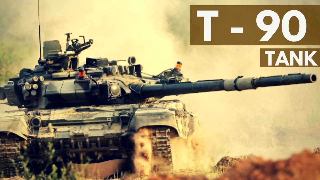 Indian Army - T 90 Tank - YouTube