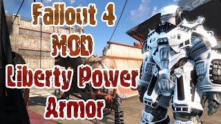 Fallout 4 мод Liberty Power Armor
