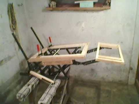 How its made  reclining mechanism Kuzman recliner