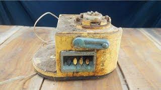 Old Juicer Blender Machine Restoration | Restore 220 Volt Electric Juicer