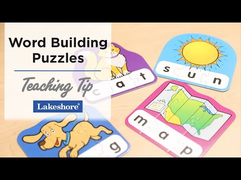 teaching-cvc-words-|-word-building-puzzles---3-letter-words-|-lakeshore®-learning