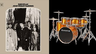 All Along The Watchtower - Bob Dylan - Backing Track for Drums