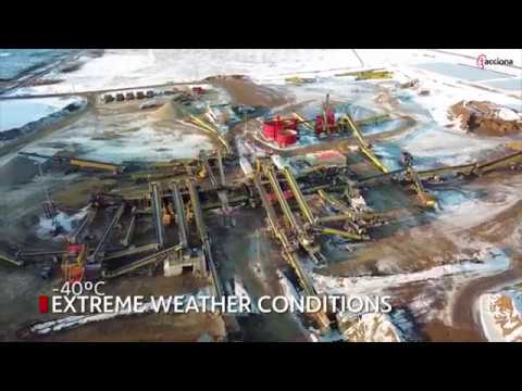 The foundations of Site C Hydroelectric Dam have been completed   ACCIONA